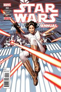 STAR WARS Annual #2, VF/NM, Princess Leia, Hans Solo, 2015 2017,more SW in store