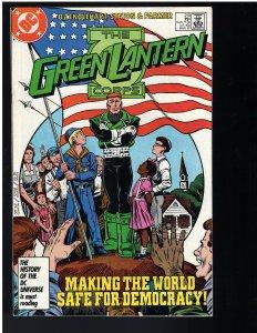 The Green Lantern Corps #210 (1987)