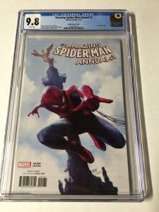 Amazing Spider-man Annual 1 Cgc 9.8 Valdes Variant 1/17 2017