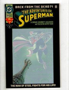 Adventures of Superman #500 (1992) YY7