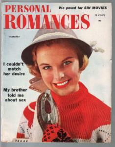 Personal Romances 2/1954-Ideal-exploitation-pulp thrills-sin movies-FN