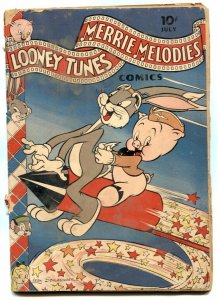 Looney Tunes and Merry Melodies #21 1943- fireworks cover G