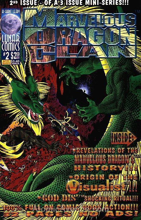 Marvelous Dragon Clan #2 VF/NM; Lunar | save on shipping - details inside