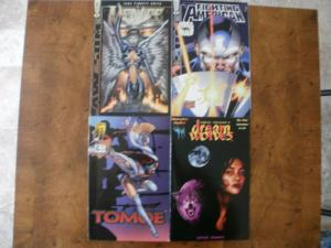 4 IMAGE Comic: Awesome #1 2 MENACE FIGHTING AMERICAN TOMOE #2 DREAM WOLVES #1