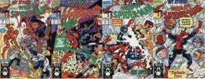 WEB OF SPIDERMAN 73-76  Art Attack!