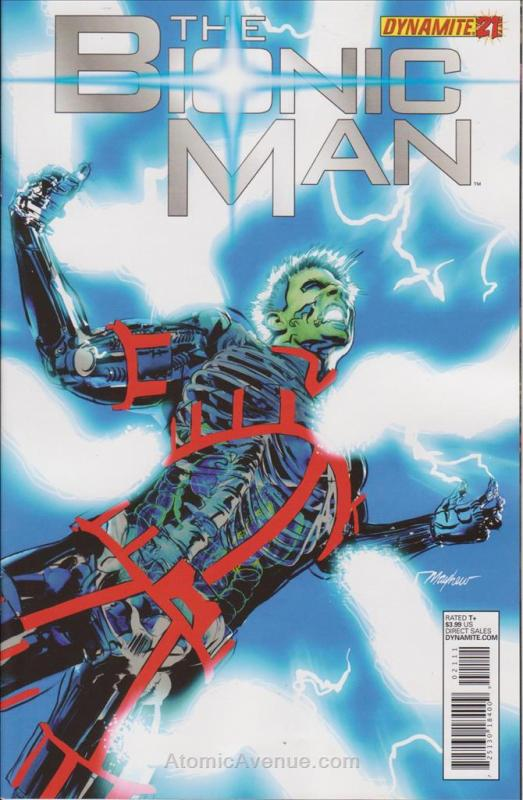 Bionic Man (Vol. 1) #21A VF/NM Dynamite - save on shipping - details inside