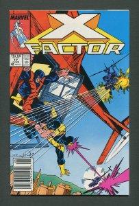 X-Factor #17  / 9.2 NM- 9.4 NM /  Newsstand / June 1987