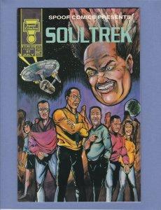 Spoof Comics Presents Soul Trek #1 NM Mike Tyson Wolverbroad