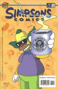 Simpsons Comics #32 VF; Bongo   save on shipping - details inside