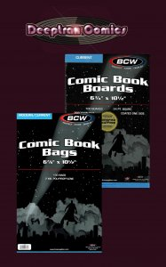 100 BCW Current Bags and Boards