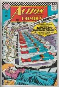 Action Comics #344 (Dec-66) VF/NM High-Grade Superman, Supergirl