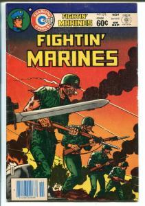 Fightin' Marines #171 1983-Charlton-bayonet cover-Sam Glanzman-WWII-VG