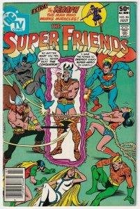 The Super Friends #46 July 1981 DC
