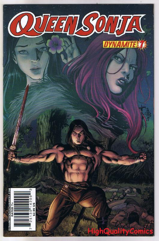 QUEEN RED SONJA #7, NM-, She-Devil,  Jackson Herbert, 2009, Robert E Howard