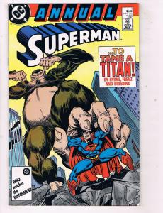 Superman Annual #1 VF DC Comics Comic Book Byrne 1987 DE47 AD33