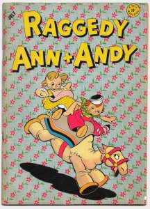 RAGGEDY ANN AND ANDY #2 (July 1946) 5.5 FN- • 8 pages of Walt Kelly artwork!