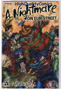 NIGHTMARE on ELM STREET #1, NM+, Paranoid, Avatar, 2005, more Horror in store