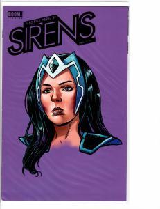 George Perez's Sirens #2 Rare Head Shot Alternate Cover VF- (7.5)