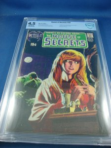 HOUSE OF SECRETS 92 CBCS 4.5 FIRST SWAMP THING WRIGHTSON ART KEY 1971 HOT