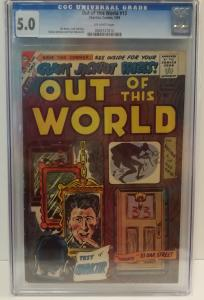 Out of this World, #13 May 1959, CGC graded 5.0