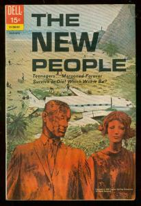 NEW PEOPLE #1  JAN 1970-DELL COMICS-TV PHOTO COVER FN