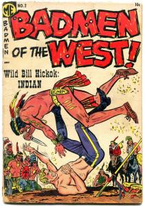 Badmen of the West #2 1954- Jesse James- billy the Kid- Wild Bill Hickock