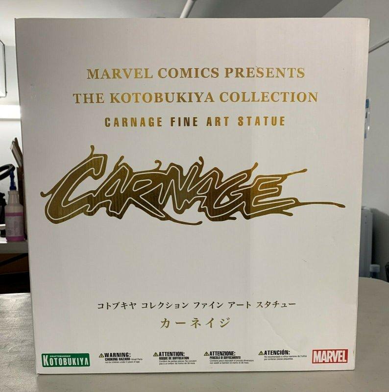 Kotobukiya Marvel Comics Maximum Carnage Fine Art Statue Limited Edition