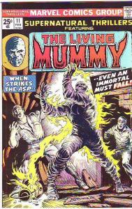 Supernatural Thrillers #11 (Feb-75) NM Super-High-Grade The Mummy