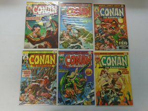 Bronze age Conan lot 11 different 25c covers from #38-50 avg 4.0 VG (1974-75)