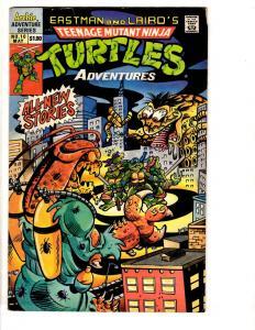 Teenage Mutant Ninja Turtles Adventures # 10 VG Archie Series Comic Book J295