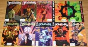 ex Machina #1-50 VF/NM complete series + special 1-4 + more BRIAN K. VAUGHAN set