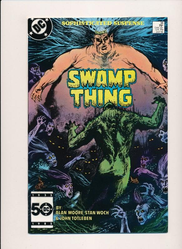 DC SWAMP THING #38 1985 VERY FINE (PF46)