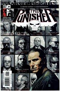 Punisher #29 (2001) Marvel Knights Garth Ennis NM