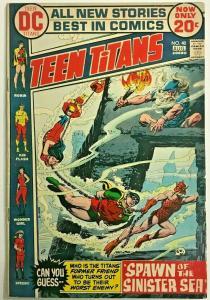 TEEN TITANS#40 VG 1972 DC BRONZE AGE COMICS