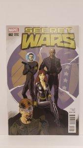 Secret Wars #2 1:25 Nowlan Incentive Variant 2015 Marvel Comics 1st Printing