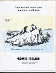 Comic Relief #1 1989-Calvin & Hobbes-Far Side-Doonesbury-political cartoons-FN