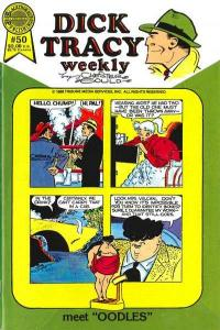 Dick Tracy Monthly/Weekly #50, NM + (Stock photo)