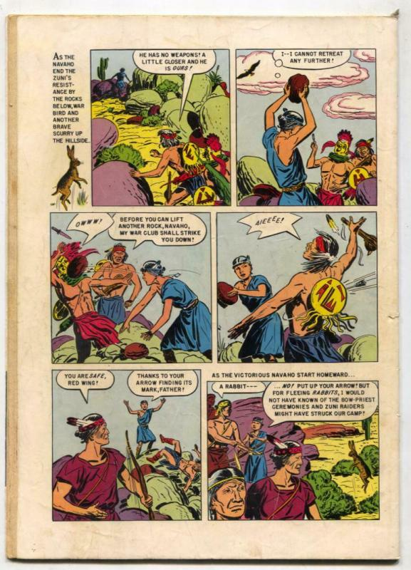 Indian Chief  #17 1955-Dell-Indian stories-White Eagle-VG