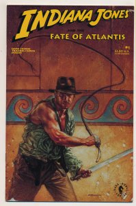 Indiana Jones and the Fate of Atlantis (1991) #1 VF
