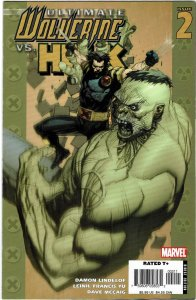 Ultimate Wolverine vs. Hulk #2 Leinil Francis Yu NM