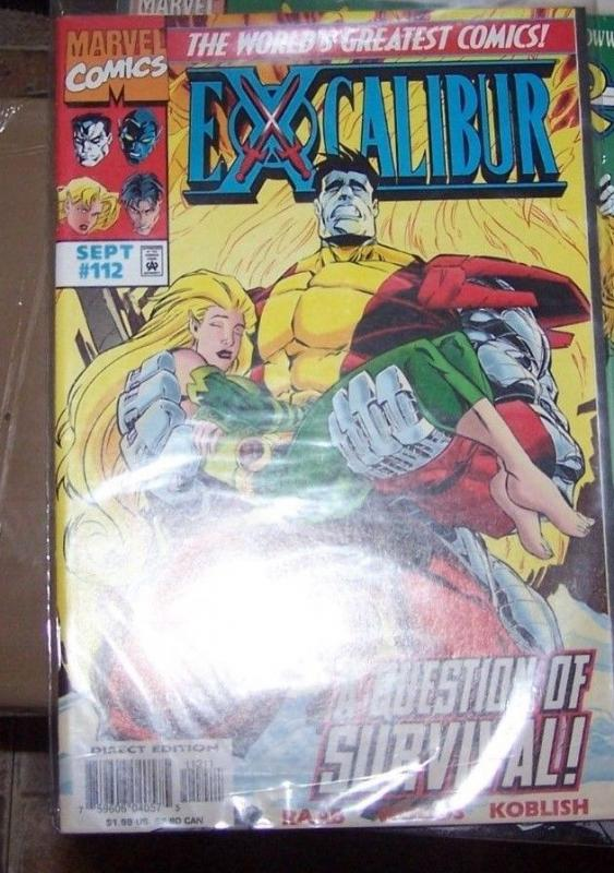 Excalibur #112 (Sep 1997, Marvel) COLOSSUS MEGAN WSDOM NIGHTCRAWLER