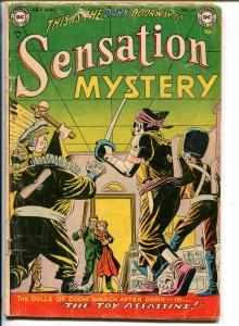 Sensation #116 1953-DC-pre-code horror-mystery & terror-G