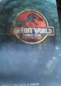 Jurassic Park The Lost World Lenticular Trading Card