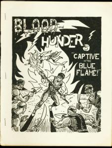 BLOOD AND THUNDER #5-1966-FANZINE-BLUE FLAME-VIBRO FN
