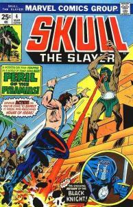 Skull: The Slayer #4, VF (Stock photo)
