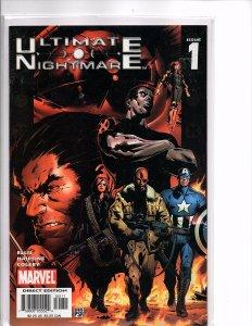 Marvel Comics (2004) Ultimate Nightmare #1 Warren Ellis teams w/ Trevor Hairsine