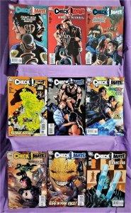 Greg Rucka CHECKMATE #8 - 16 Jesus Saiz  Origin of Fire Outsiders (DC, 2007)!