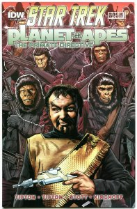 STAR TREK PLANET of the APES #2, VF/NM, Damn Dirty Apes, 2014,IDW,more in store