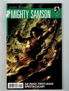 Mighty Samson # 1 VF Dark Horse Comic Book Jim Shooter Patrick Olliffe Art S75
