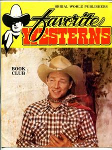 Favorite Western Book Club 1980's-Roy Rogers-books-fanzines-FN